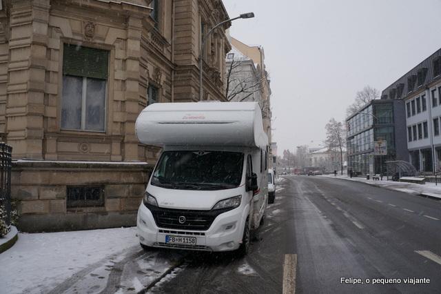 viajar de motorhome pela Alemanha