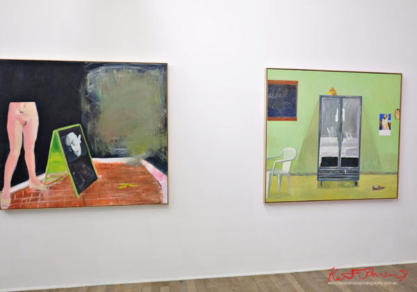 Artworks, Nick Collerson; Everything Must Go; Ray Huges Gallery, Photography by Kent Johnson for Street Fashion Sydney.