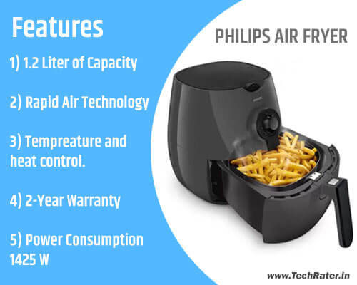 5 Best Air Fryer Machine to buy on amazon for healthy cooking