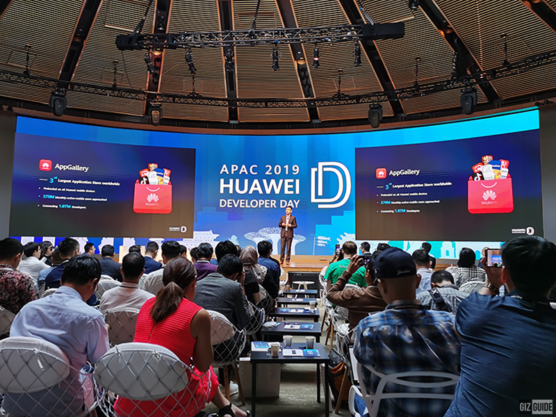 More than 1.07 million developers have registered to Huawei to ensure more apps will be available for its users