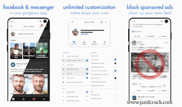 Swipe Pro for Facebook latest