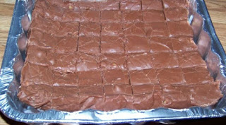 Easiest fudge recipe in the world, can't mess it up if you tried.