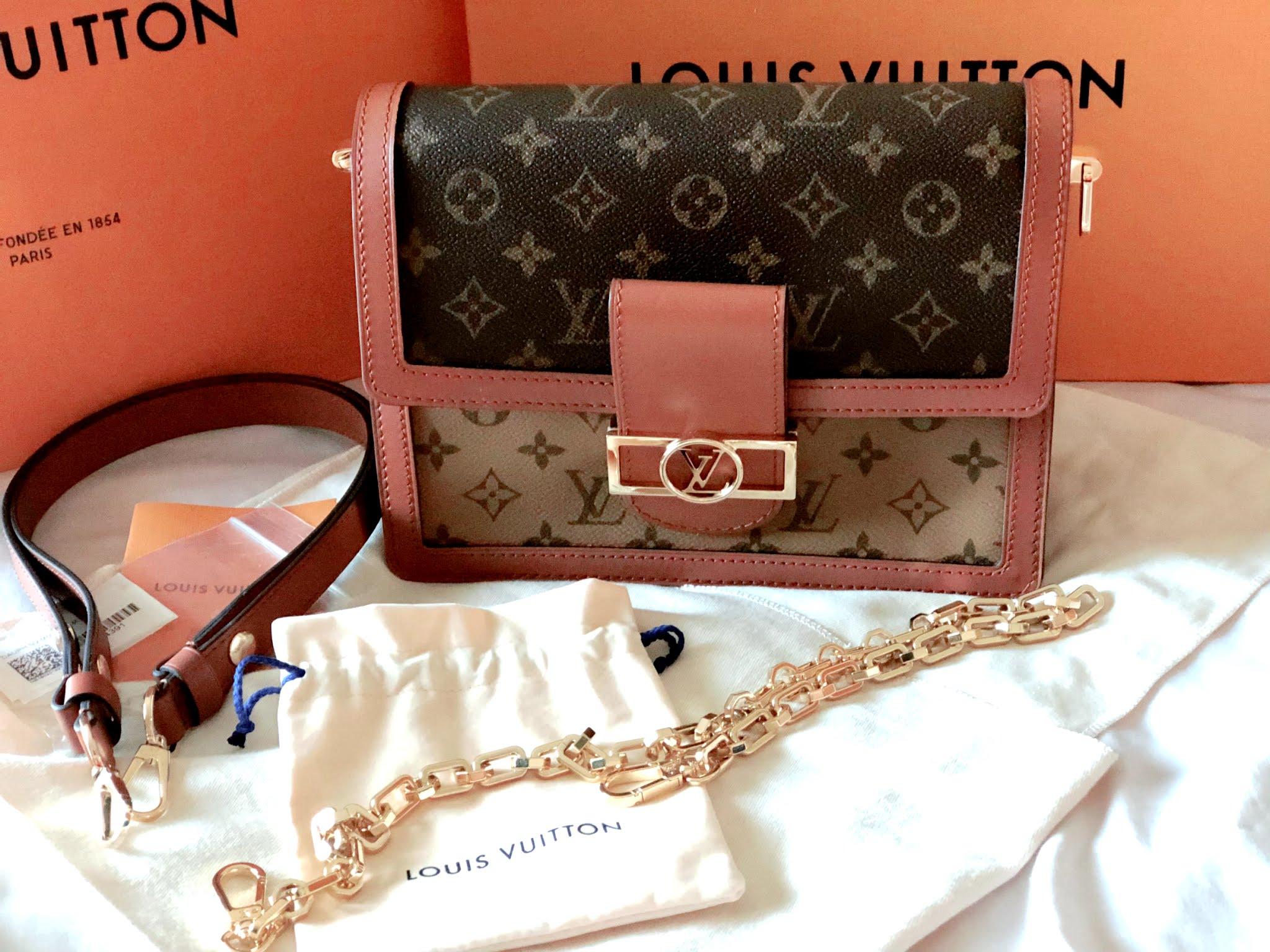Louis Vuitton Dauphine MM handbag reveal
