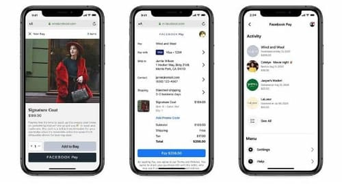 Facebook is expanding the use of Facebook Pay