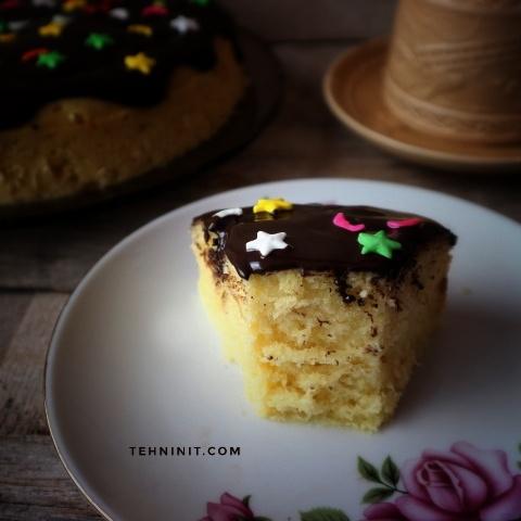 Cake 1 Telur Empuk dan Moist
