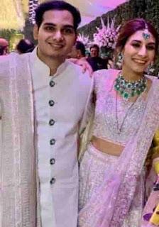 Arjun B Kothari With Anandita Mariwala