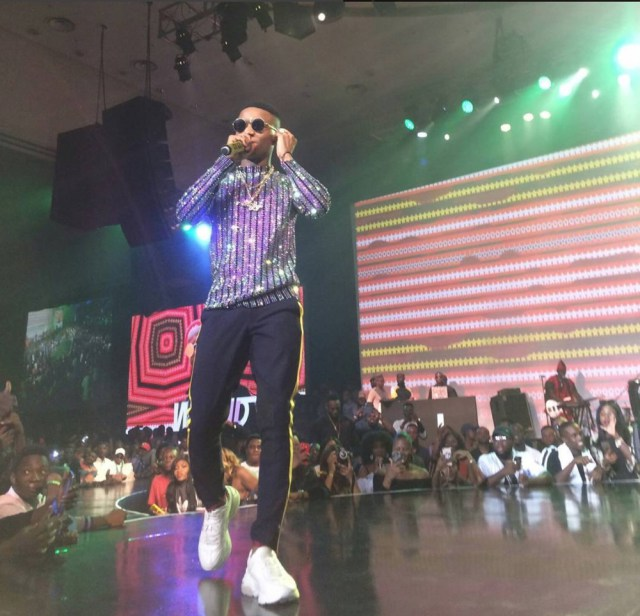 Wizkid's Gucci outfit to his concert costs a whooping N2,011,150 million naira only