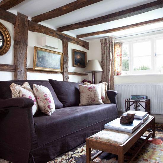 Cozy Dark Living Room: New Home Interior Design: 10 Cosy Living Room Ideas