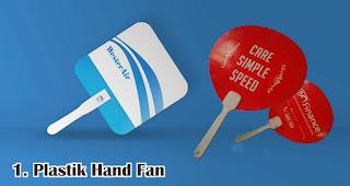Plastik Hand Fan merupakan salah satu jenis kipas promosi yang cocok untuk dijadikan souvenir