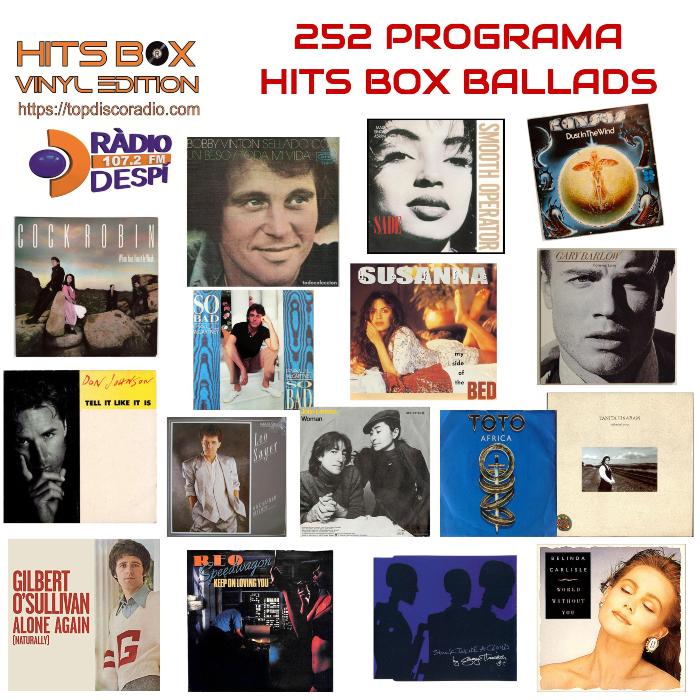 252 Programa Hits Box Ballads Vol.4