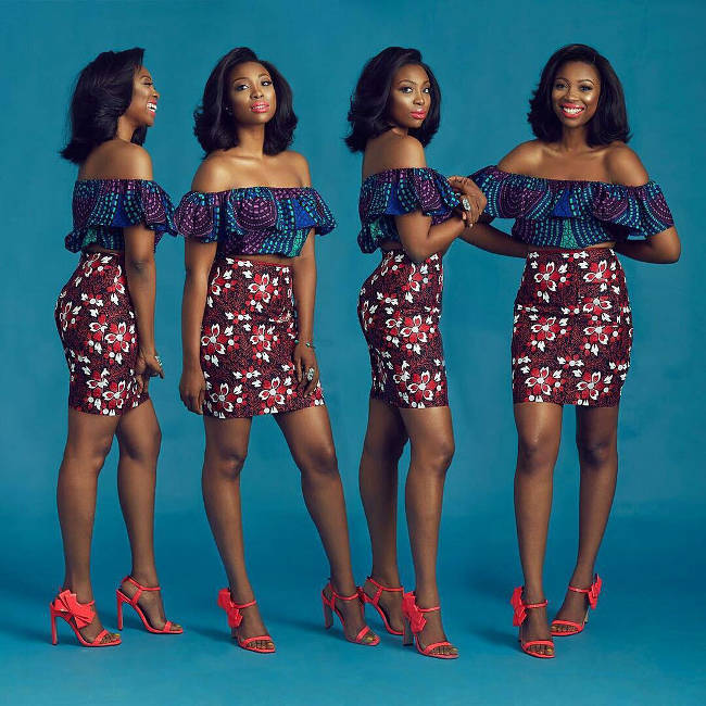 ankara tops designs