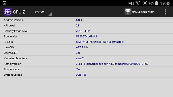 Download CPU-Z Premium Apk Latest Version Pro Cracked