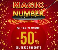 Logo Pittarello ''Magic Number'': -50% sul terzo prodotto