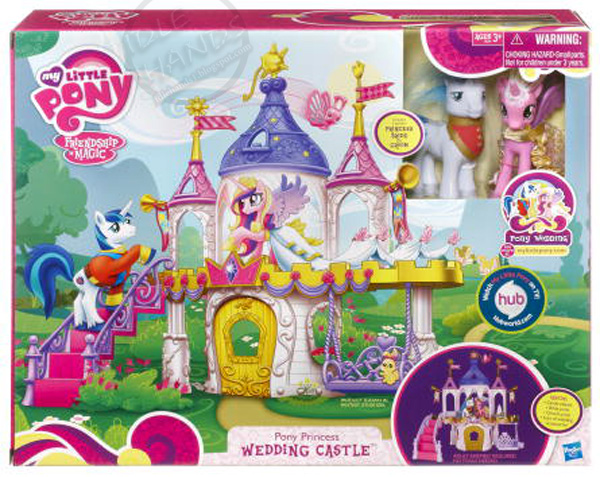 Idle Hands: Toy Fair 2012 : A My Little Pony Wedding