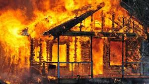 Ditinggal Pergi Pemilik, Sebuah Rumah di Kabandungan Ludes Terbakar