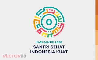 Hari Santri Nasional 2020 Logo - Download Vector File AI (Adobe Illustrator)