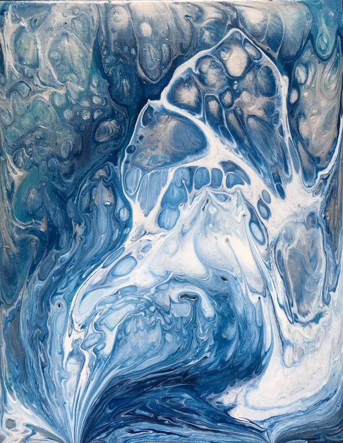 Blue Flow- Original Painting