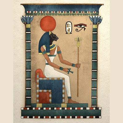 Antica raffigurazione della Dea-gatta Bastet