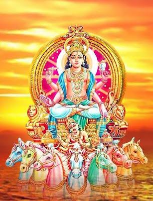 സൂര്യ ഗായത്രി മന്ത്രം Surya Gayatri Mantra Malayalam Lyrics