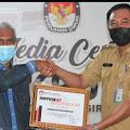 Kecamatan Sungai Batang Raih Penghargaan dari KPU Inhil