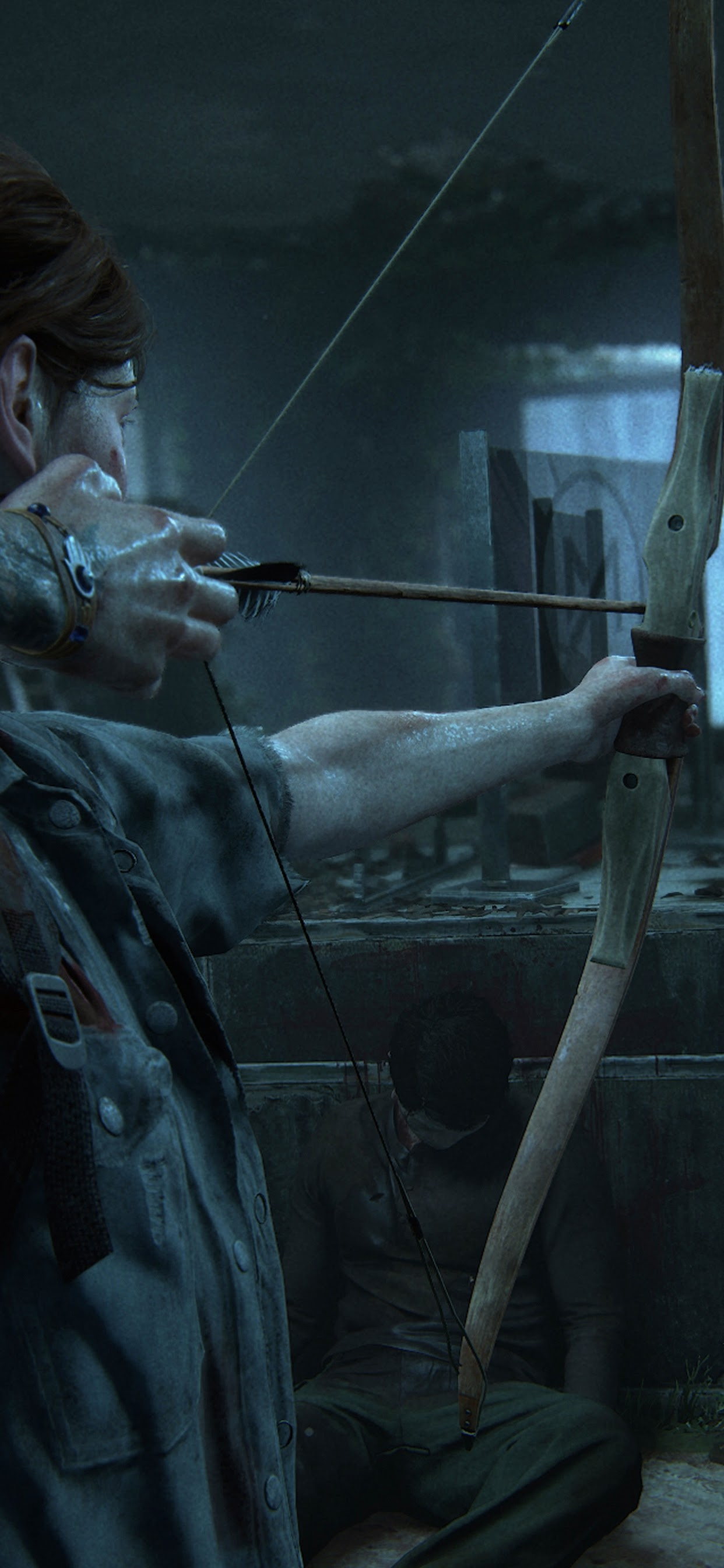 The Last Of Us Part 2 Ellie Bow And Arrow 4k Wallpaper 6