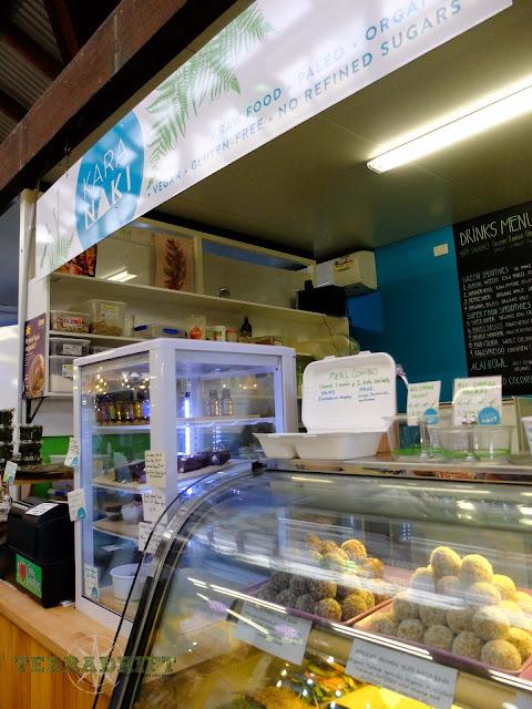 Karanaki Raw Food inside the Fremantle Markets