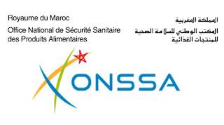 المكتب الوطني للسلامة الصحية للمنتجات الغذائية - onssa