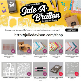 Stampin' Up! Sale-a-Bration 2020 3rd Release