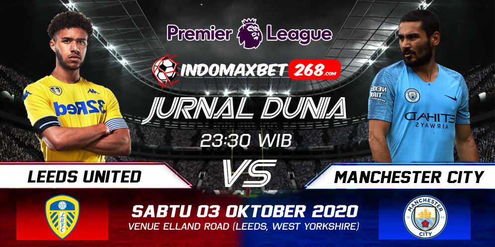 Prediksi Leeds United vs Manchester City 03 Oktober 2020 Pukul 23:30 WIB