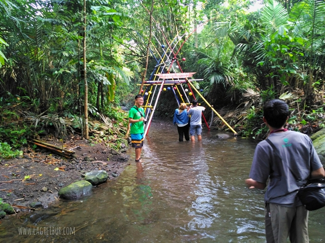 Susur Sungai Desa Wisata Pancoh Sleman DIY