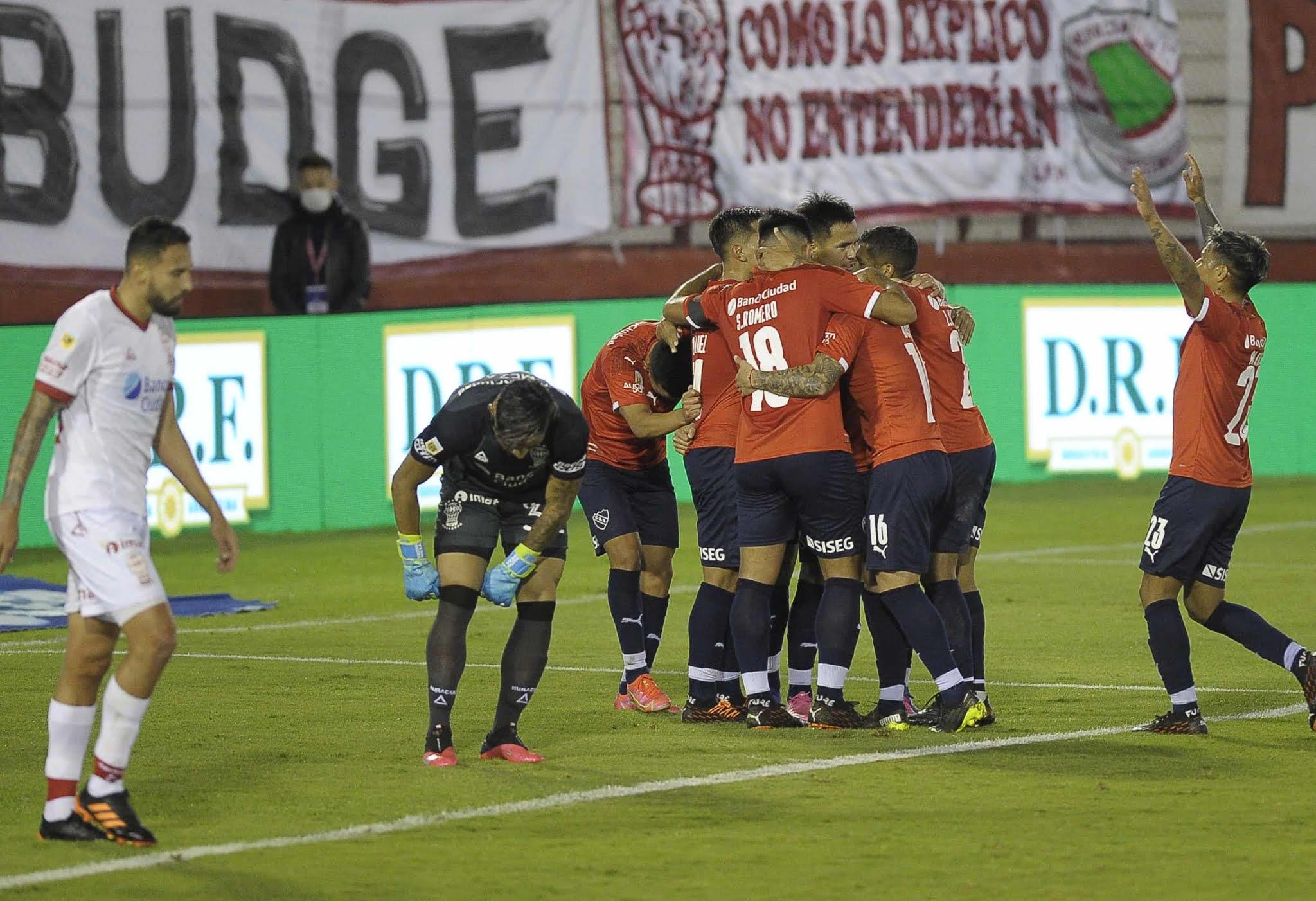 Independiente, con esfuerzo, alcanzó el objetivo de pasar a cuartos de final