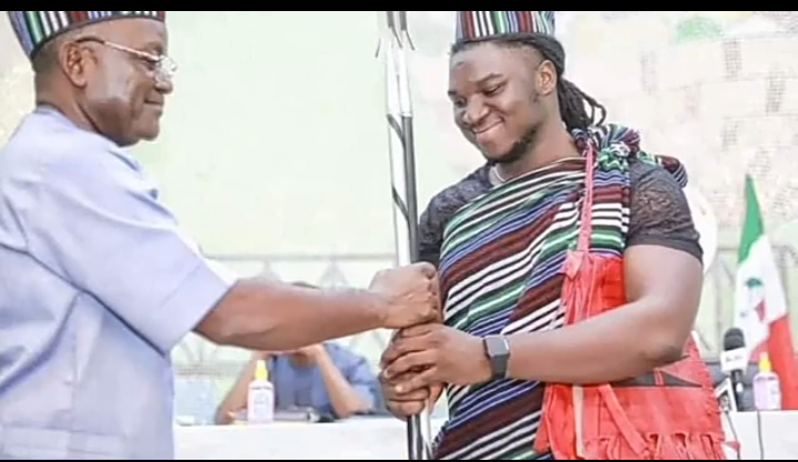 Yesterday, Gov. Samuel Ortom Named Me The Youth Ambassador Of Benue State - Atela Francis
