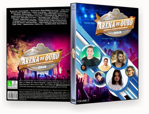 DVD-R arena de ouro 2018 – AUTORADO