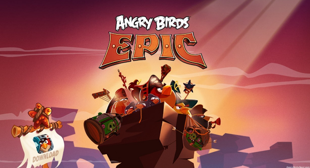 Angry Birds Epic RPG Mod Apk Unlimited Money
