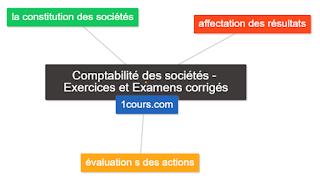 Comptabilité des sociétés - Exercices corrigés et Examens corrigés