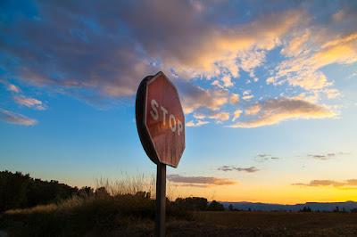 Senyal d'STOP a Folgueroles