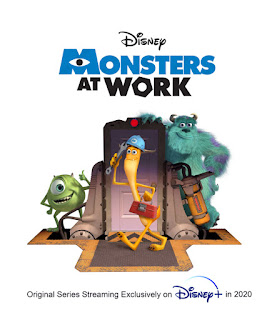 Monsters At Work original concept artwork
