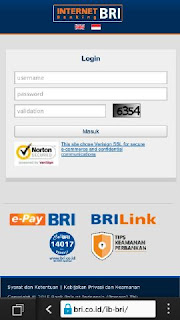 Internet Banking BRI Versi Baru 2015 Sudah Support Browser Mobile
