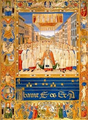 Libro di codici liturgici di Santa Maria in Fiore - Firenze