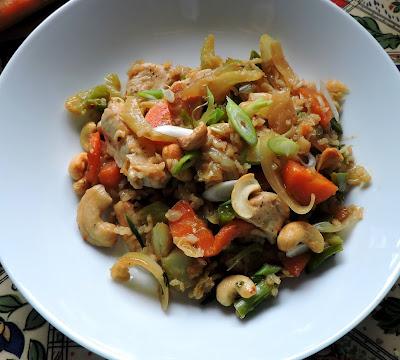 Garlic Cashew Chicken