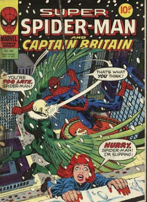 Super Spider-Man and Captain Britain #240, the Vulture