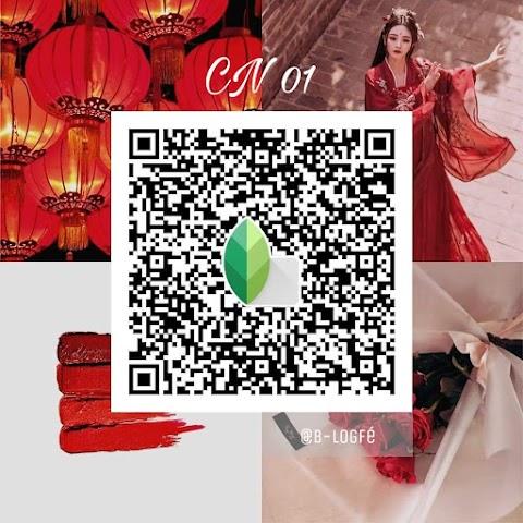 Red tone แต่งภาพคุมโทนแดง ต้อนรับตรุษจีน | Snapseed QR
