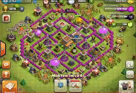 Tips dan Trik Defense Base Town Hall 8 Pada Game COC (Clash Of Clans)