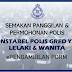 Permohonan Polis & Semakan Panggilan 27 September - 17 Oktober 2021 ~ ePengambilan PDRM