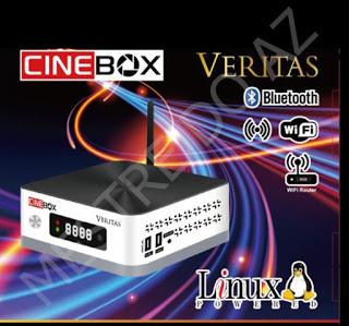 CINEBOX VERITAS NOVA ATUALIZAÇÃO V1.19.0 - 12/05/2021