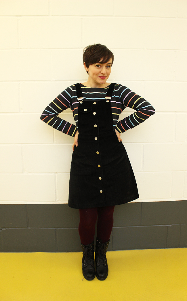 Tilly's Bobbi pinafore - Tilly and the Buttons