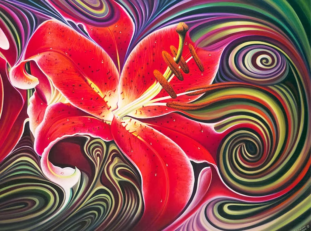 Cuadros modernos pinturas y dibujos cuadros de flores for Imagenes de cuadros abstractos rusticos