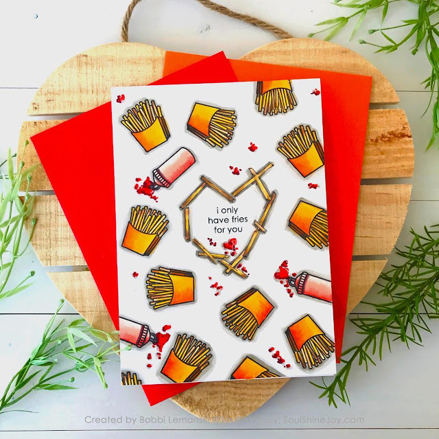 Sunny Studio Stamps: Fast Food Fun Punny Customer Card by Bobbi Lemanski