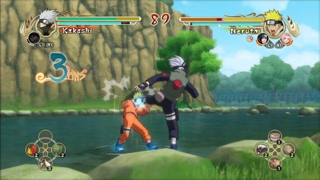 Imagem do Naruto: Ultimate Ninja Storm