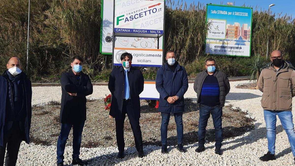 Lo sponsor Fascetto riqualifica ampio spartitraffico a San Giorgio